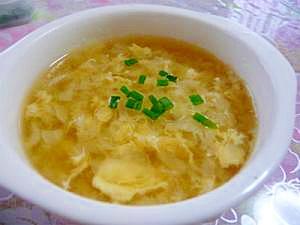 みじん切りキャベツで☆優しいスープ