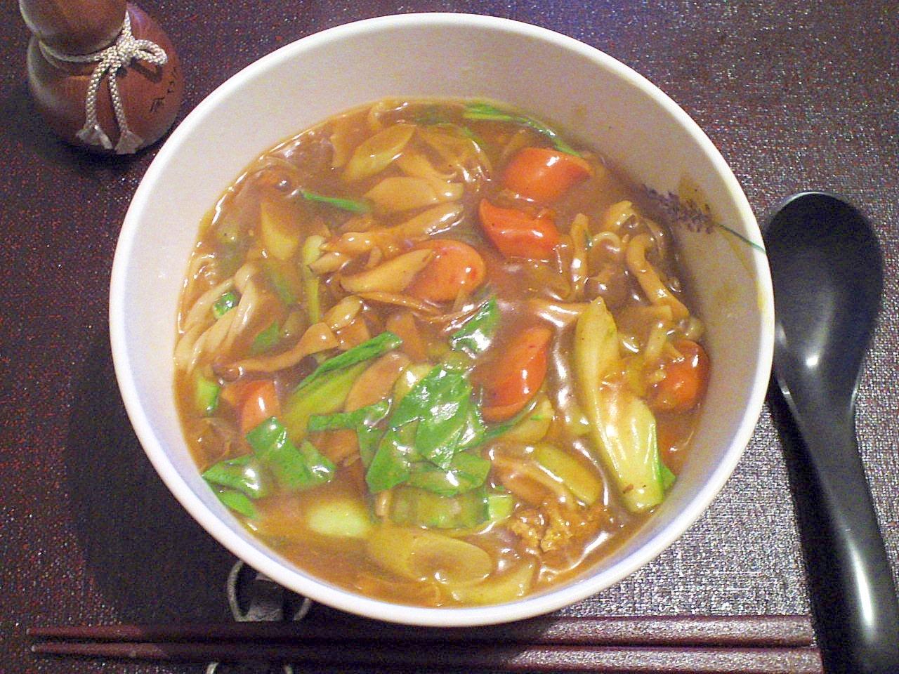 めんつゆとカレー粉で☆お蕎麦屋さんのカレーうどん レシピ・作り方 by fukuwajutu|楽天レシピ