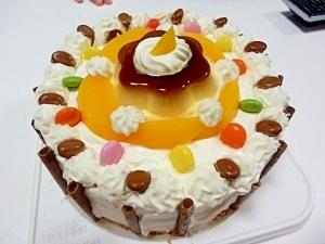 スポンジ ケーキ デコレーション