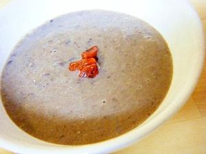 小豆ミルク汁粉