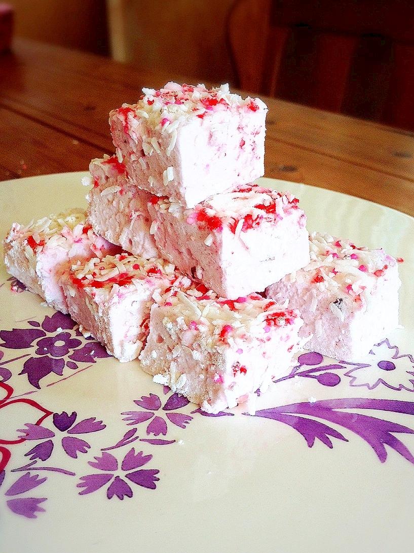 かわいいピンクのマシュマロを作りましょう