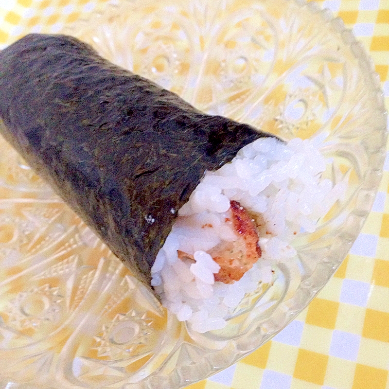 から揚げの巻き寿司