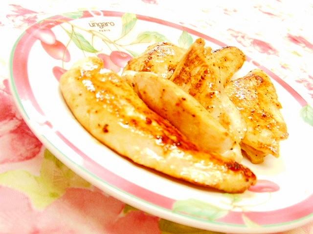 鶏ささみのジューシーガリバタ檸檬