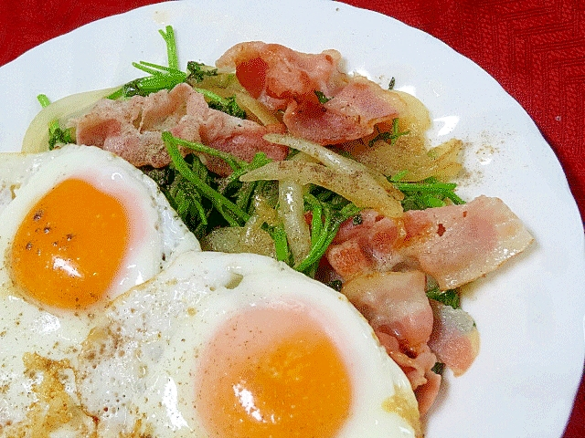 朝の一皿☆