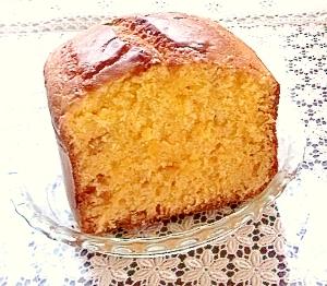 柚子茶あっさりパウンドケーキ