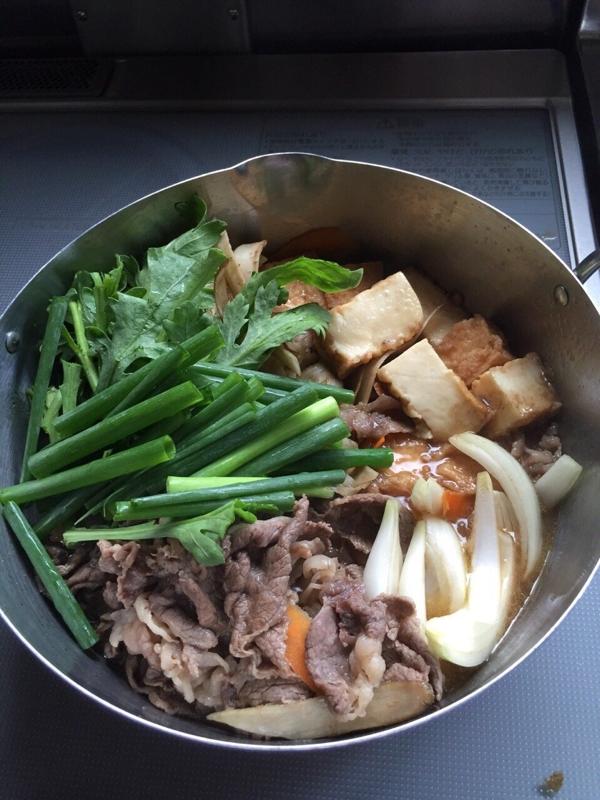 牛のすき煮