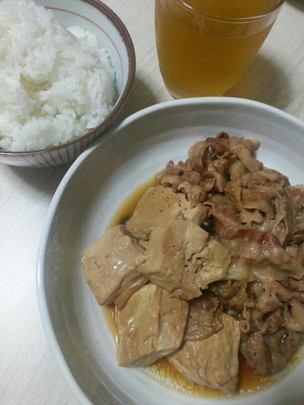 豆腐のすき煮