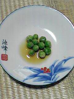 エンドウ豆の煮豆