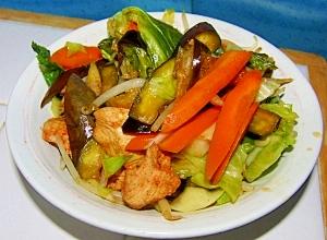 野菜たっぷり♪かんたん野菜炒め