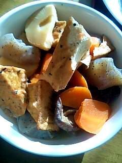 すぐにつくれる厚揚げ豆腐の煮物