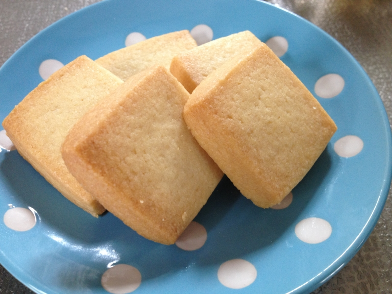 バタークッキーの基本レシピ