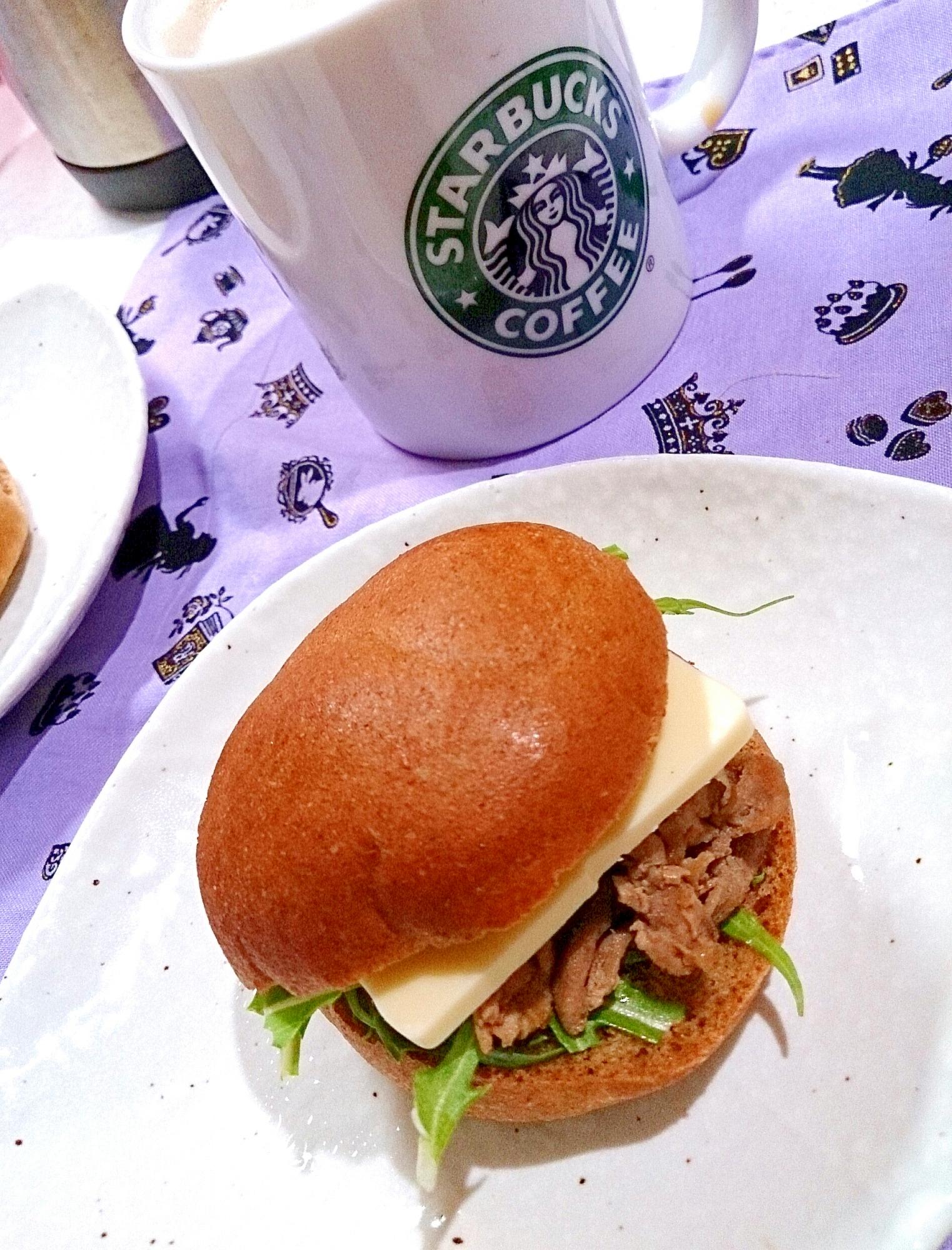 【糖質制限】少量で時短♪豚肉生姜焼きチーズサンド