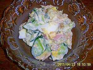 糖質制限ダイエットに!ポテト風菊芋サラダ