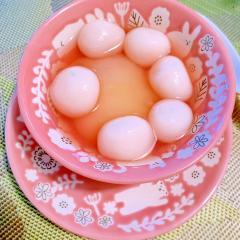 桃の白玉ピーチポンチ
