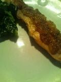 簡単おかず◎鮭のマヨ胡麻焼き