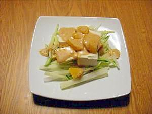 あっさりヘルシー豆腐サラダ♪