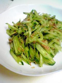 超簡単♪きゅうりの中華風味サラダ