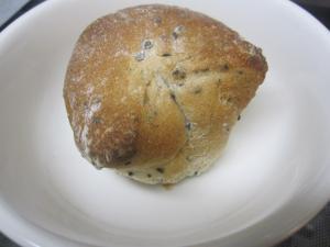 粒入りマスタードのホームベーカリー無しで簡単パン☆