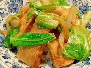 高野豆腐の生姜焼き