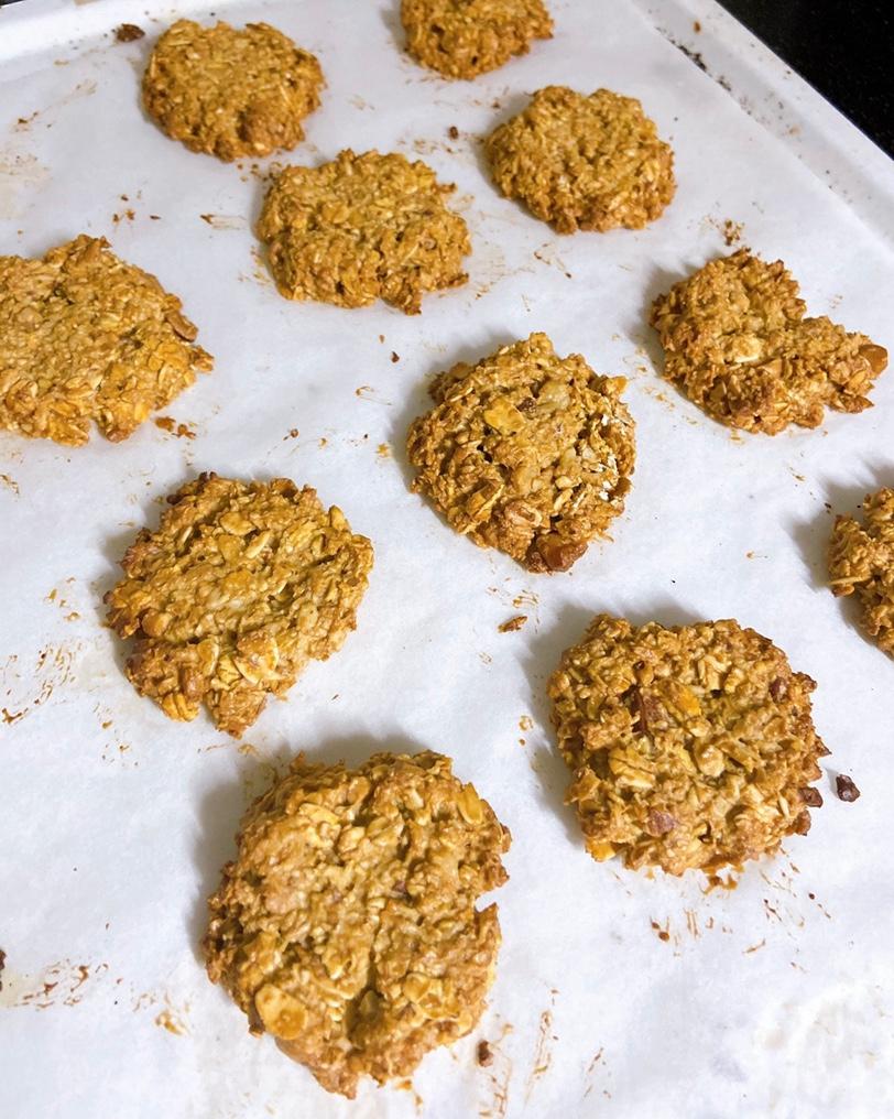 オートミールクッキー★小麦粉、バターなし