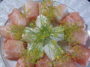 季節限定☆ディル花の寿司