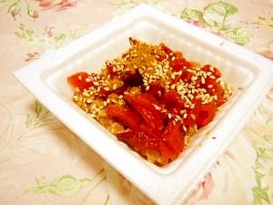 カレー風味deご飯がすすむぅ~福神漬け納豆