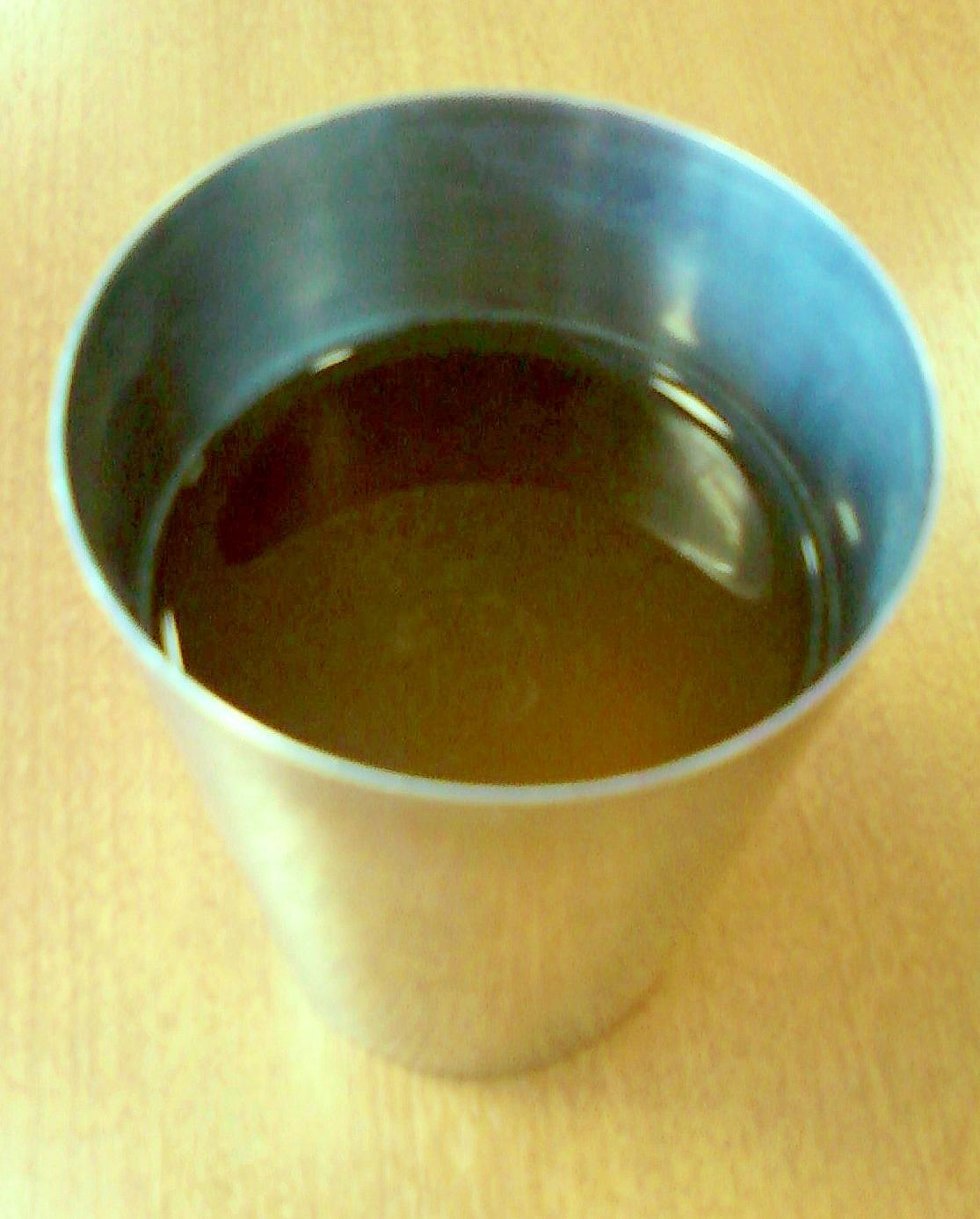 ☆*:・☆緑茶抹茶アクエリアス割り焼酎☆*:・☆