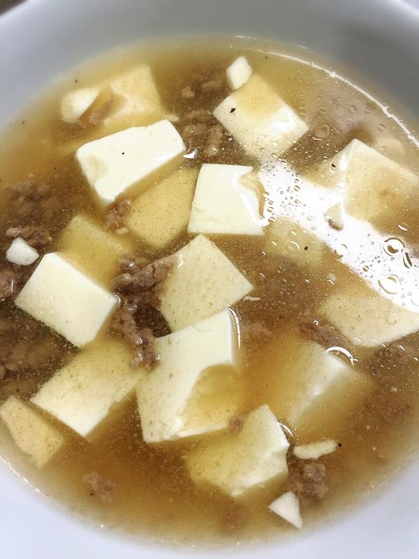 簡単ごはんにかけて食べる和風スープ