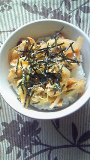 野菜の炒め丼