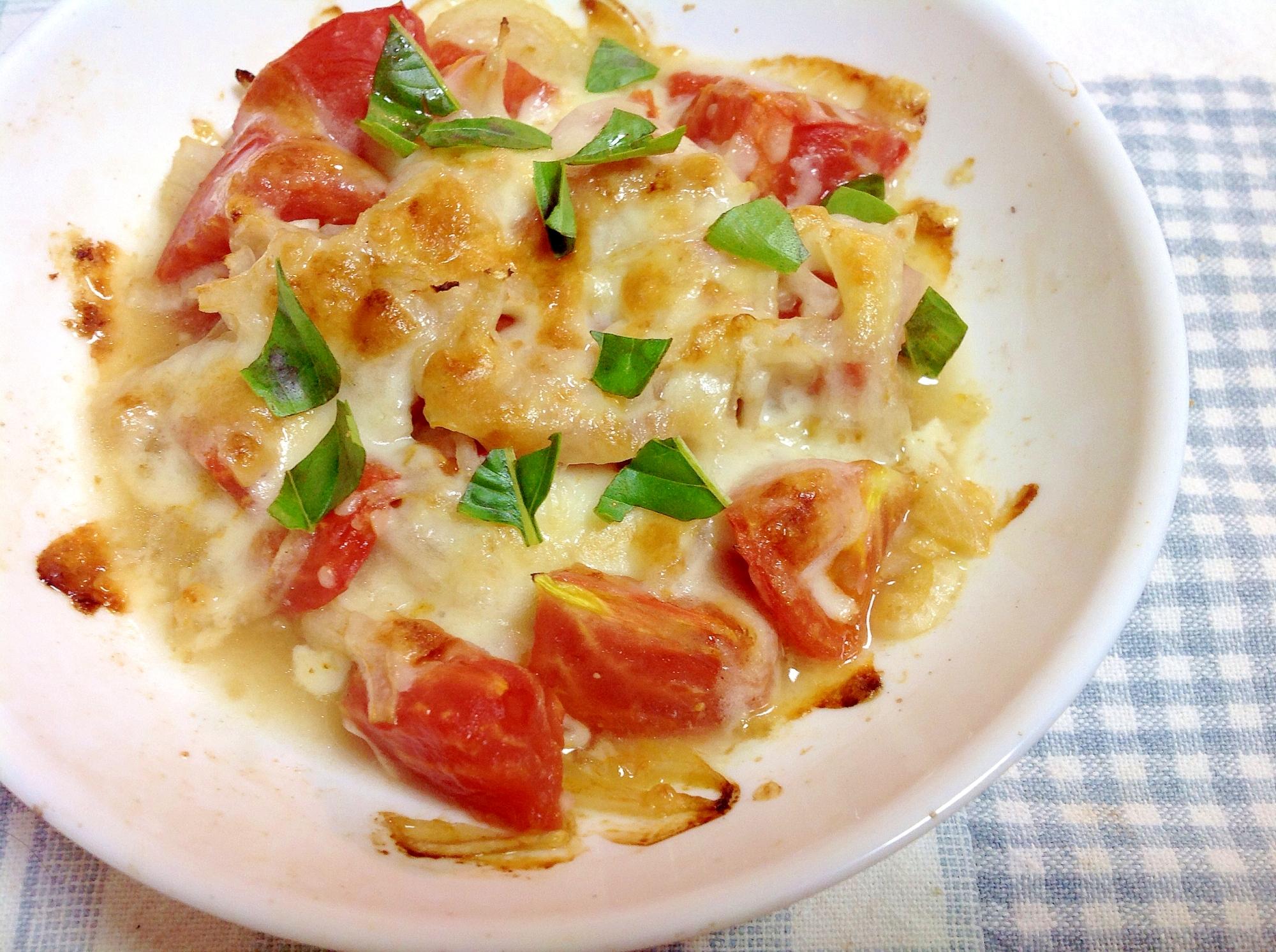 簡単!美味しい!トマトのチーズ焼き☆