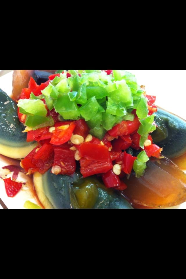 ピータンのピリ辛サラダ