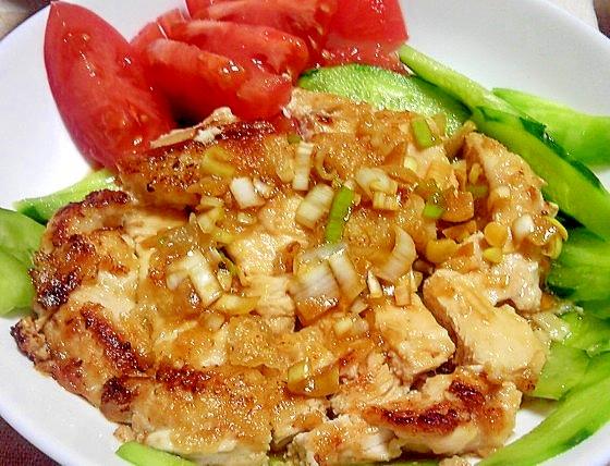 鶏むね肉でコストを抑えた油淋鶏(ユーリンチー) レシピ・作り方 by デラみーやん|楽天レシピ