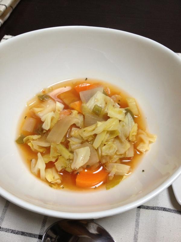 減量期に登場デトックススープ