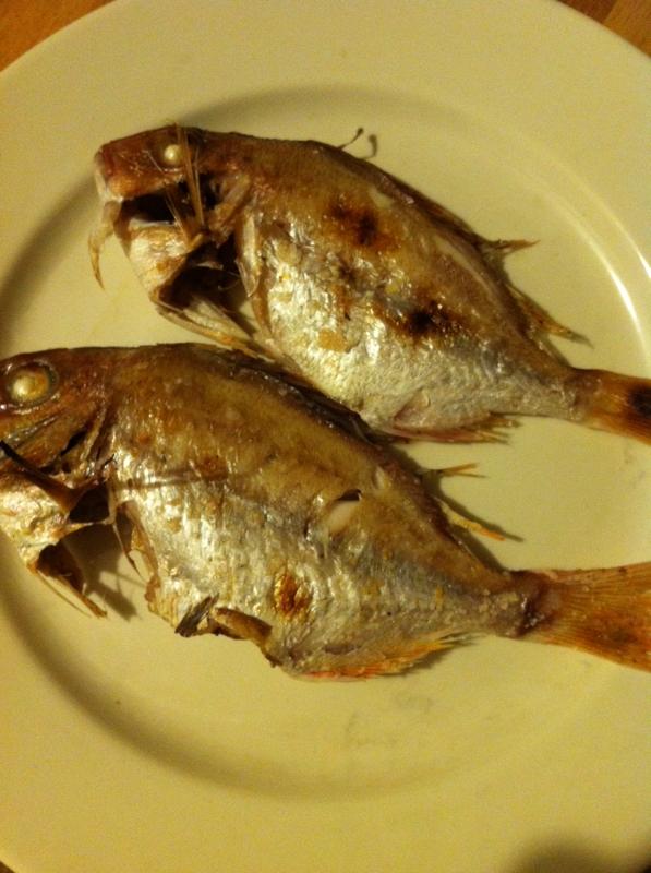 小鯛の塩焼き