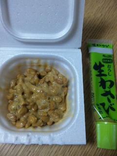 一味変えてわさび納豆&わさびマヨ納豆