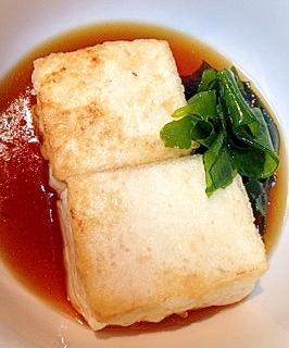 【糖質制限】ラードでこくうま★揚げ出し豆腐