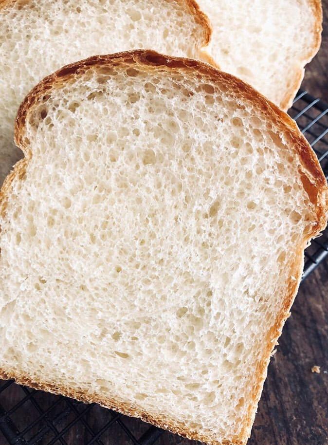 和三盆とぬちまーすのパン・ド・ミの断面