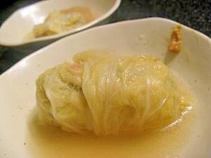 鶏団子の白菜ロール