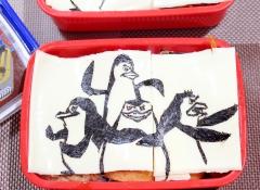 キャラ弁☆ペンギンズfromマダガスカル海苔アート