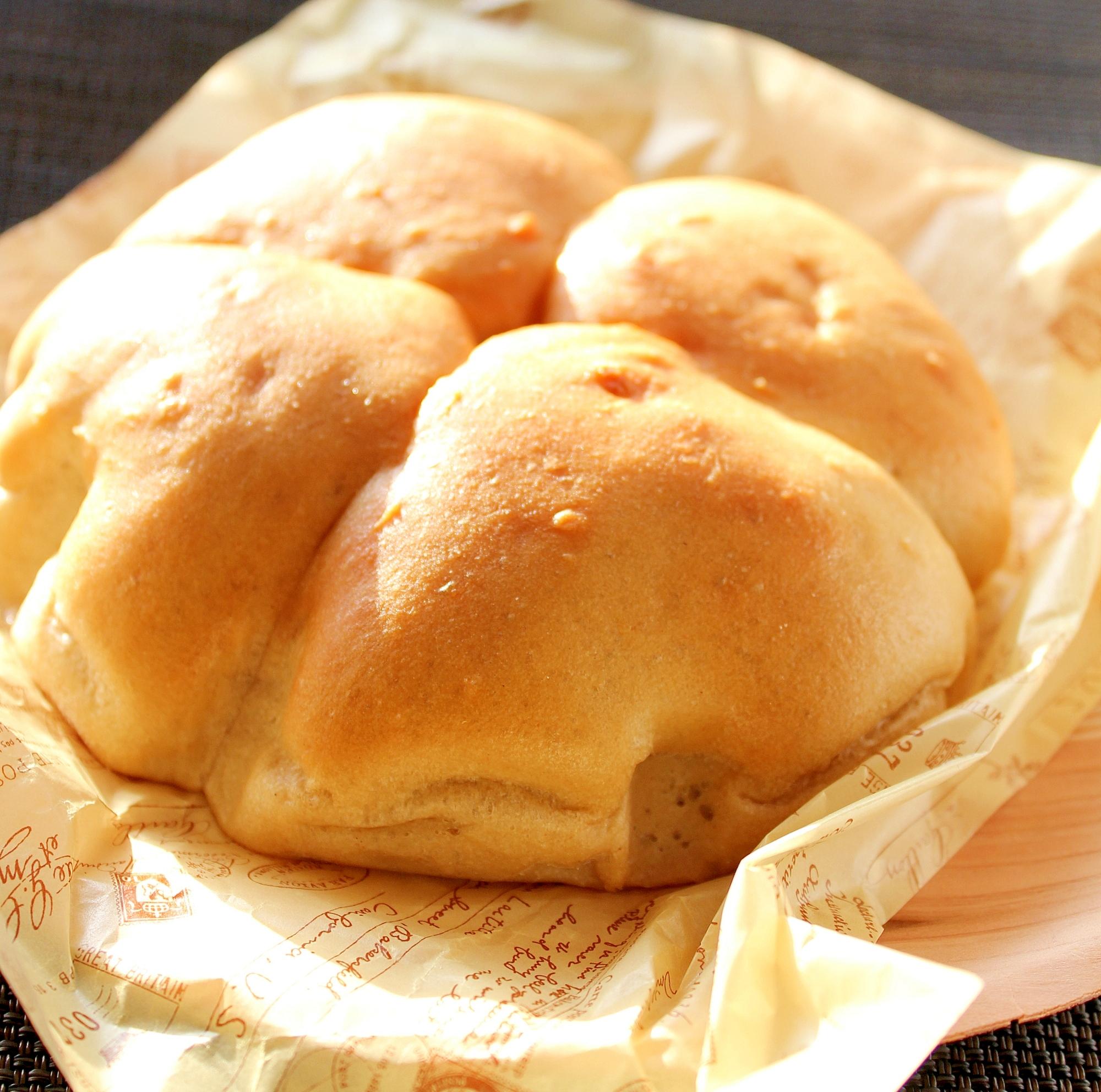 4.ノンフライヤーで発酵手ごねブランパン