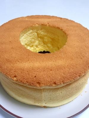 ケーキ 簡単 シフォン