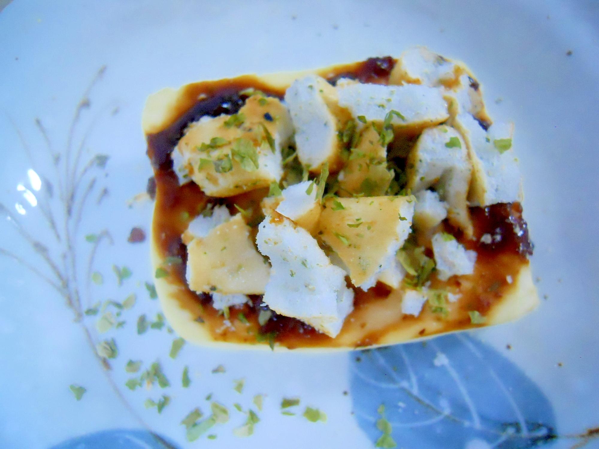 トースターで☆青海苔&煎餅