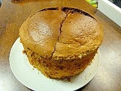 筒無柿シフォンケーキ17cm~砂糖・小麦不使用