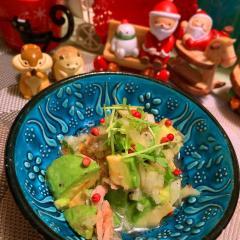 ツナとアボカドの簡単サラダ