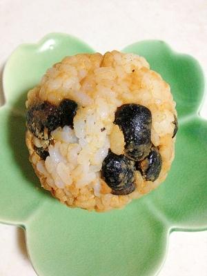 京都府丹波黒豆ときな粉のおにぎり レシピ作り方