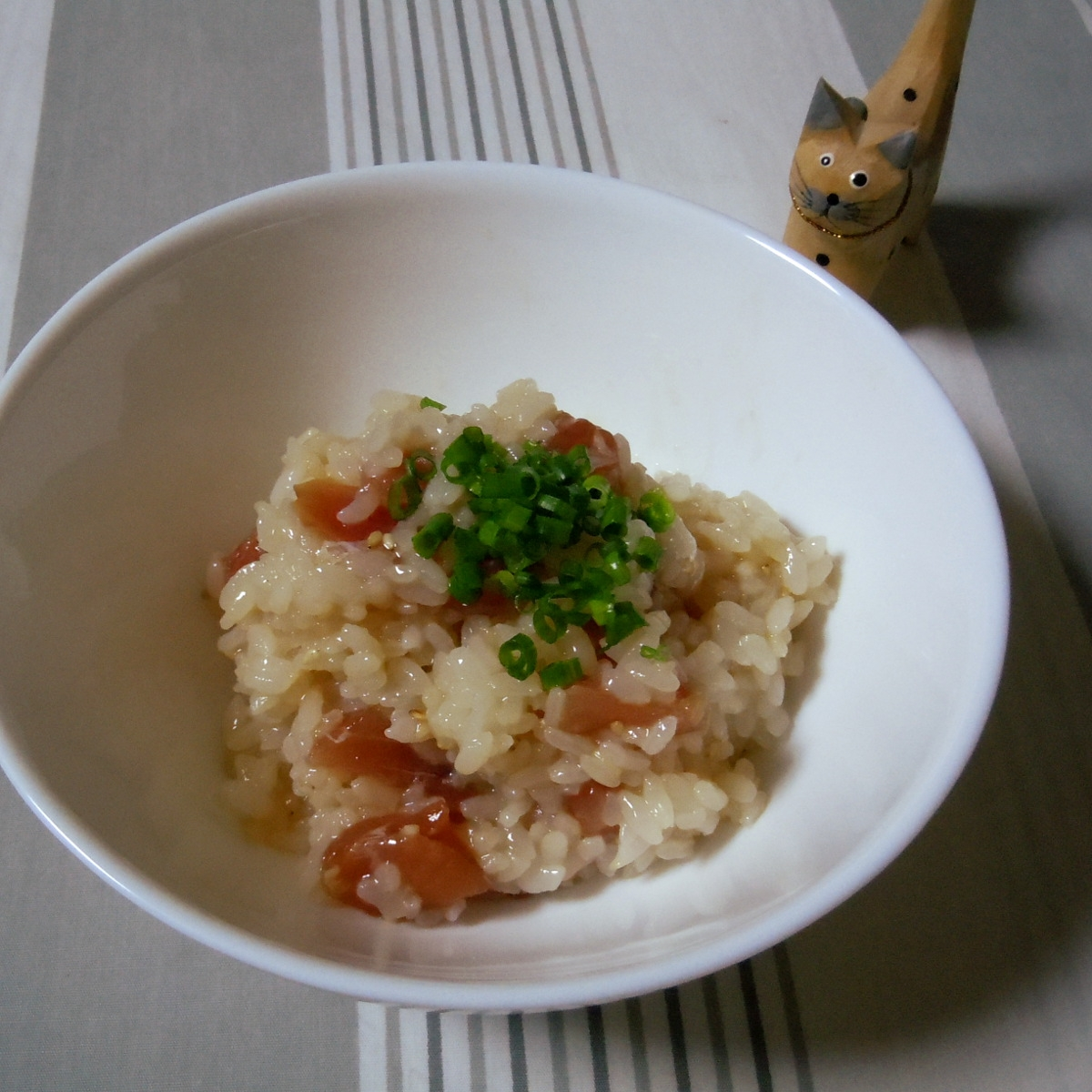 まぐろの塩麹漬けで簡単手捏ね寿司