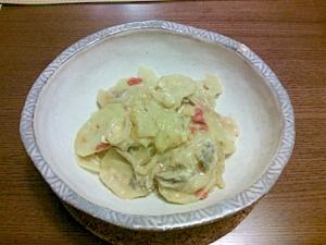 簡単ブータン料理☆ケワ・ダツィです!