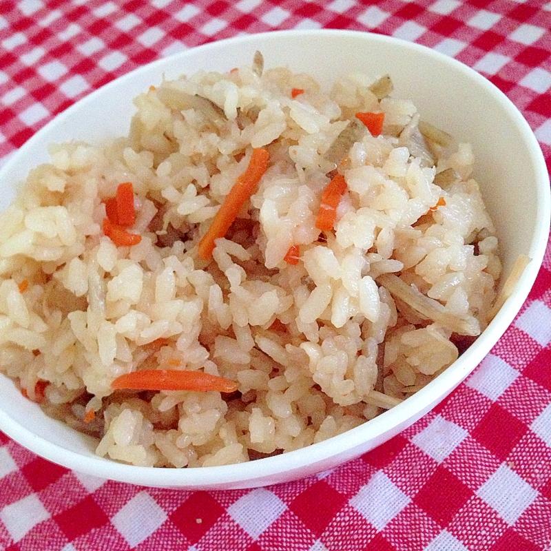 2. きんぴらごぼうの炊き込みご飯