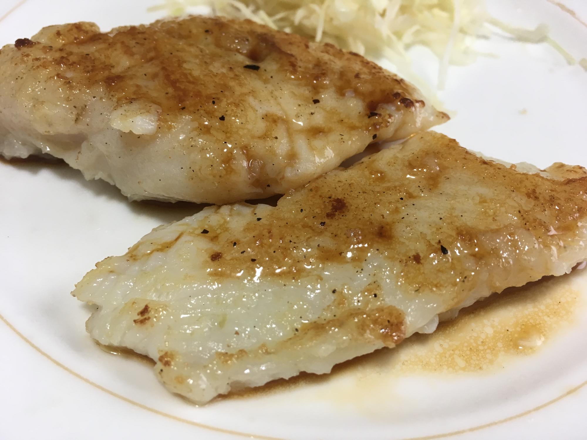 5. 白身魚のムニエル