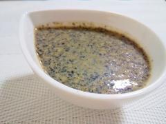 胡麻香る♡黒胡麻と味噌の和ダレ